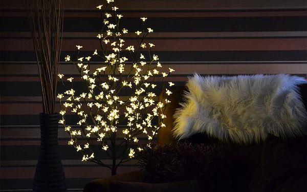 Nexos 1126 Dekorativní LED osvětlení - strom s květy 150 cm, teple bílé2