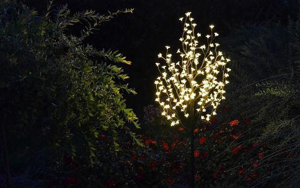 Nexos 1126 Dekorativní LED osvětlení - strom s květy 150 cm, teple bílé4