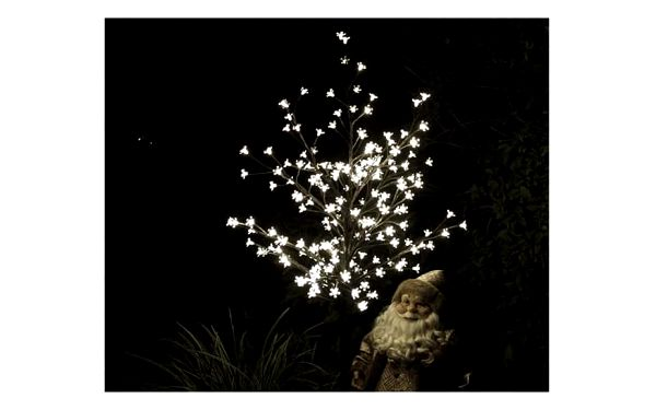Nexos 1126 Dekorativní LED osvětlení - strom s květy 150 cm, teple bílé5