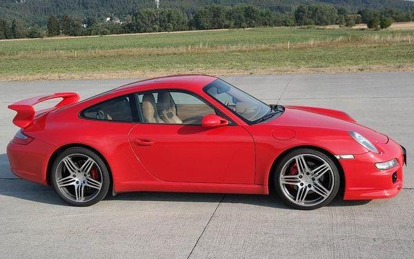 Jízda v supersportu Porsche 911 Carrera3