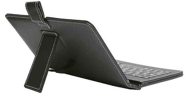 """Pouzdro na tablet s klávesnicí iGET F7B univerzal, 7"""" (F7B) černé2"""