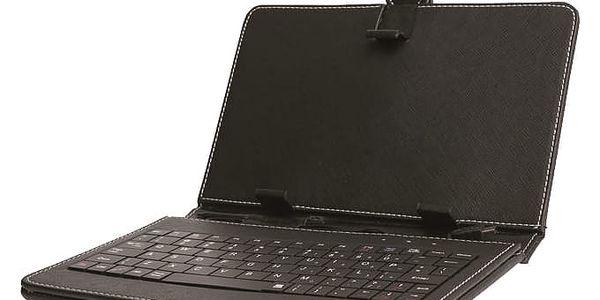 """Pouzdro na tablet s klávesnicí iGET F7B univerzal, 7"""" (F7B) černé3"""