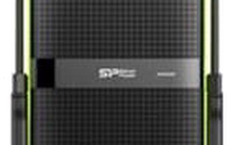Silicon PowerOdolný externí HDD Armor A80 USB 3.0 1TB černozelený, na splátky od 289 Kč měsíčně