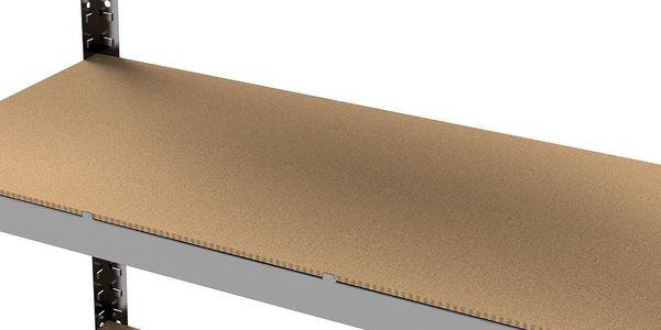 Kovový regál Primo II. 180x90x30 cm - 5 polic3
