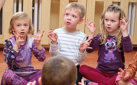Angličtina pro děti 3 - 5 let, úterý 16:15-17