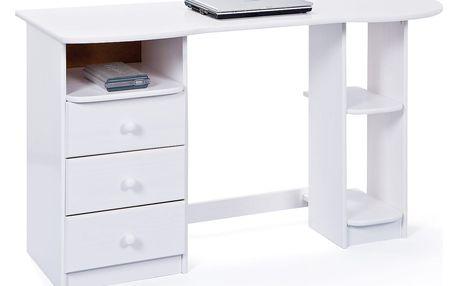 PC stůl TOUCHROUND bílý