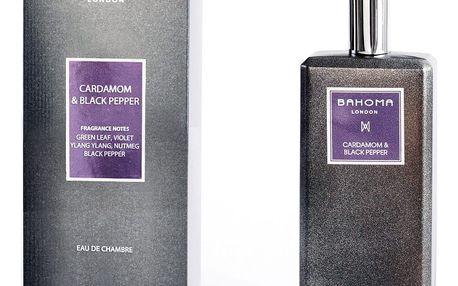 Interiérový sprej s vůní kardamonu a černého pepře Bahoma London, 100 ml