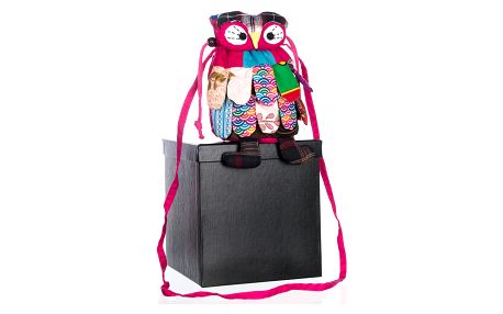 Dámská kabelka menší sova handmade