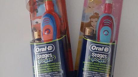 Braun ORAL B D2 Battery kids D2010 - motiv pro kluky