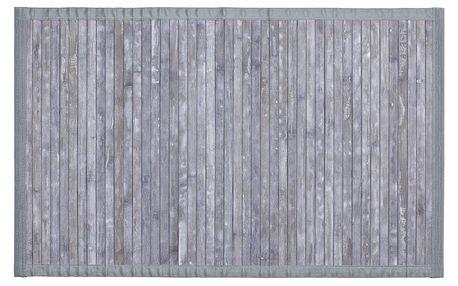Wenko Protiskluzová podložka pro koupelny Bamboo, 80 x 50 cm