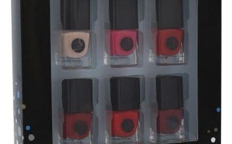 2K Let´s Get Colourful! Classics dárková kazeta pro ženy lak na nehty 6x 5 ml