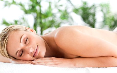 Hloubková terapeutická masáž + akupresura, zábal