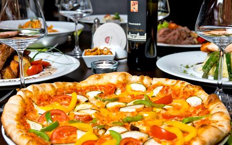 Otevřený voucher do italské restaurace Basilico