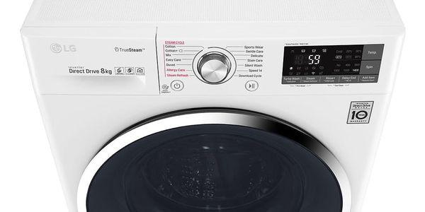 Pračka LG F84J8TS2W bílá + DOPRAVA ZDARMA3