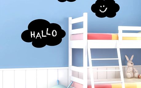 Samolepící tabule na psaní Eurographics Hello Clouds