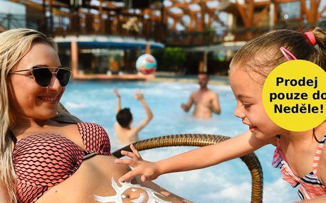 Celý den v aquaparku Tatralandia nebo Bešeňová