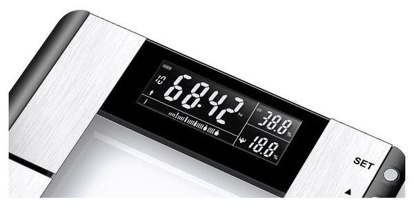 Osobní váha Gallet Trézlidé PEP 817 s tělesnou analýzou černá2