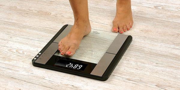 Osobní váha Gallet Trézlidé PEP 817 s tělesnou analýzou černá3