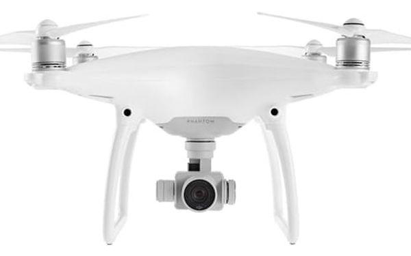 Dron DJI Phantom 4, 4K Ultra HD kamera (DJI0420) bílý (DJI0420)