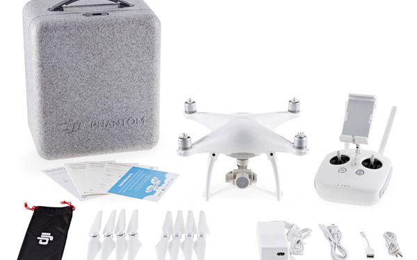 Dron DJI Phantom 4, 4K Ultra HD kamera (DJI0420) (DJI0420) bílý + DOPRAVA ZDARMA3