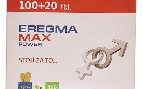 EREGMA Max Power 100 + 20 tablet ZDARMA