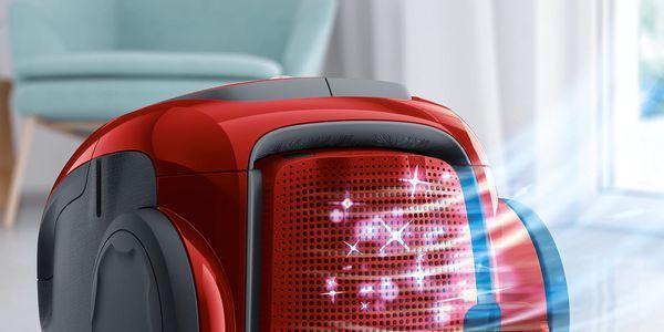 Podlahový vysavač Electrolux UltraSilencer ZEN EUS8ANIMAL červený + DOPRAVA ZDARMA4