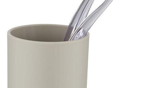 Nádobka na zubní kartáčky BRASIL, taupe, WENKO