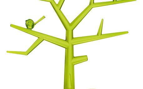 Stromeček na šperky Pi:p,velikost M - barva zelená, KOZIOL