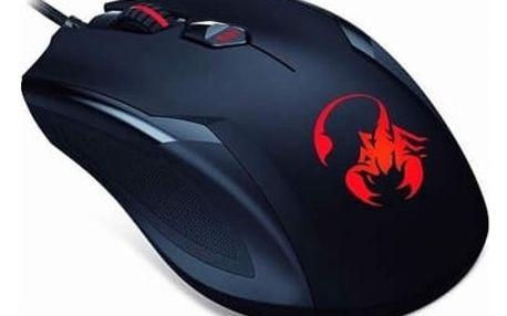 Myš Genius GX Gaming Ammox X-1 400 černá (/ optická / 4 tlačítka / 3200dpi) (31040033104)