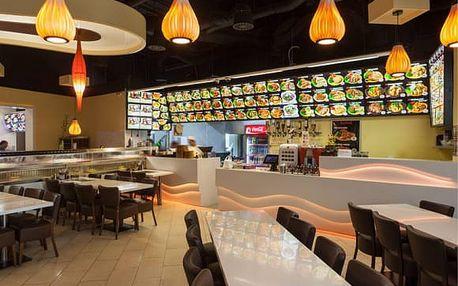 Running sushi - 3 hodiny neomezené konzumace v Hostivaři