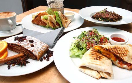 Obědové menu v PoloCaffé pro 1 i pro 2