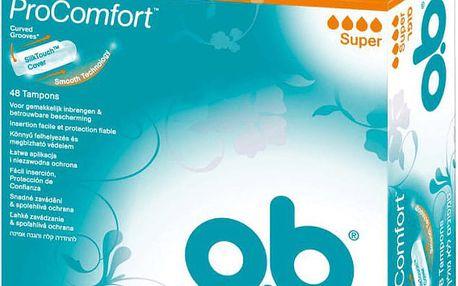 O.B. Tampony ProComfort Super (48 ks)