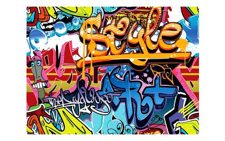 Up and Down Fototapeta Graffiti, 232 x 315 cm