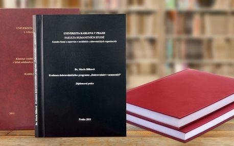 Expresní vazba diplomové nebo bakalářské práce