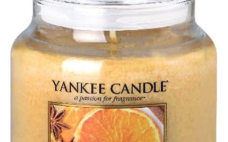 Yankee Candle vonná svíčka střední Star Anise & Orange, 411 g