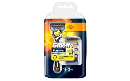 Gillette ProShield Fusion Flexball strojek + 4 hlavice