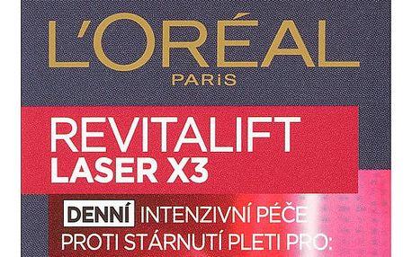 L'Oréal Paris Revitalift Laser X3, denní intenzivní péče proti stárnutí pleti 15 ml