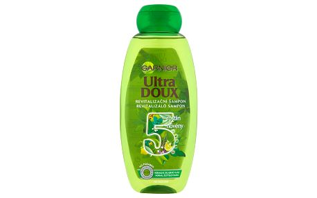 Garnier Ultra Doux Revitalizační šampon 5 rostlin 400 ml
