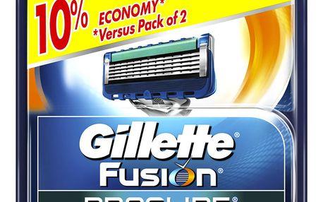 Gillette Fusion Proglide náhradní hlavice do holicího strojku 4 ks