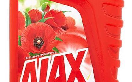 Ajax Active Soda čistič povrchů v domácnosti 1000 ml, Red Flowers
