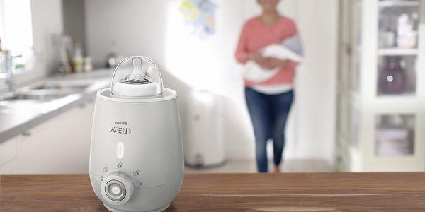 Ohřívač kojeneckých lahví Philips AVENT SCF356/00 bílý4