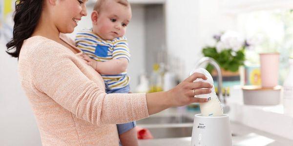 Ohřívač kojeneckých lahví Philips AVENT SCF356/00 bílý5