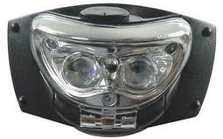 Čelovka EMOS 2x čirá LED, 1x rudá LED, 3x AAA