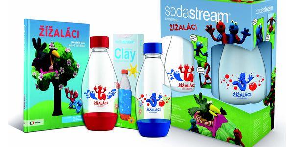 Příslušenství k výrobníkům sody SodaStream dětský set Žížaláci2