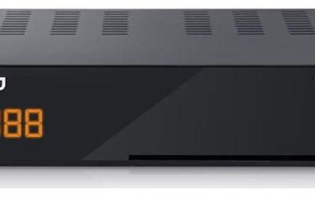 DVB-T2 přijímač Amiko T-665 černý/plast (5999883022030)