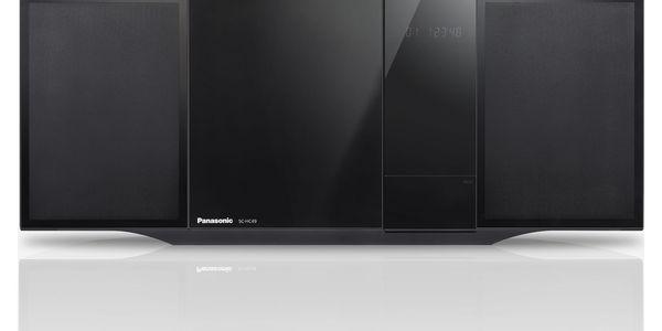 Mikrosystém Panasonic SC-HC49EG-K černý + DOPRAVA ZDARMA2