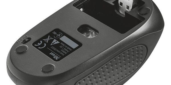 Myš Trust Primo Wireless (20322) černá / optická / 4 tlačítka / 1600dpi5