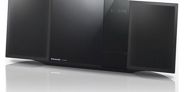 Mikrosystém Panasonic SC-HC49EG-K černý + DOPRAVA ZDARMA4