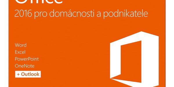 Software Microsoft CZ pro domácnosti a podnikatele (T5D-02737)2