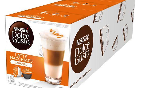 Set (3x Kapsle pro espressa Nescafé Dolce Gusto LATTE MACCHIATO CARAMEL )2